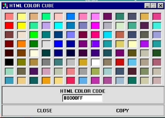 Html Color Cube 1.0 download & buy