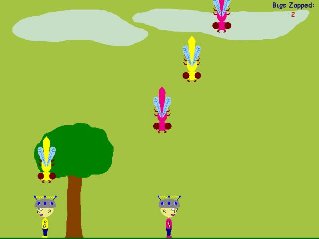 Click here to view more screenshots of Bug Zappers
