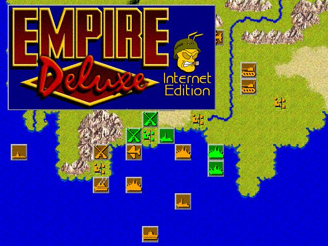 Click here to view more screenshots of Empire Deluxe Internet Edition