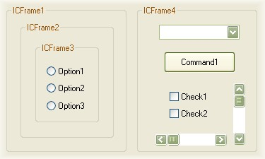 Click here to view more screenshots of Frame ActiveX control