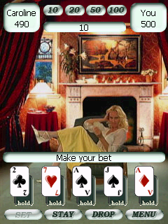 Click here to view more screenshots of iSexGames Poker&BlackJack High Video
