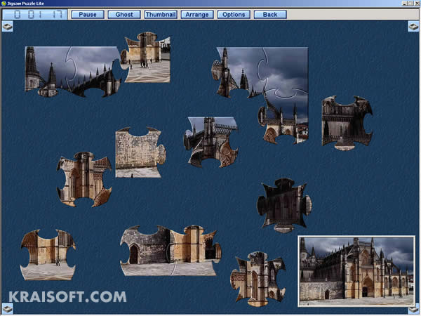 Click here to view more screenshots of Jigsaw Puzzle Lite 1.8.3