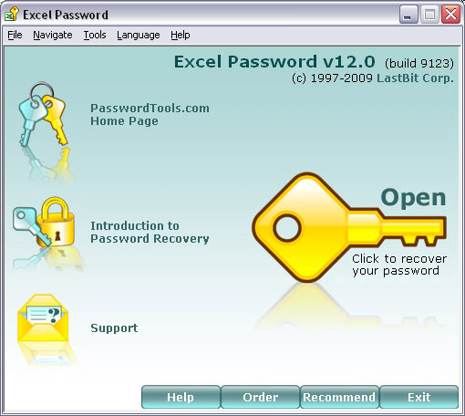 Click here to view more screenshots of LastBit Excel Password Recovery